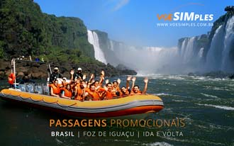 Promoção de passagens aéreas para Foz do Iguaçu