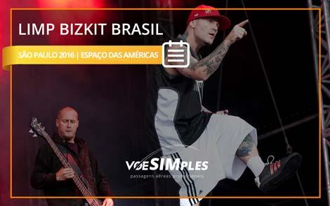 Show Limp Bizkit Brasil 2016