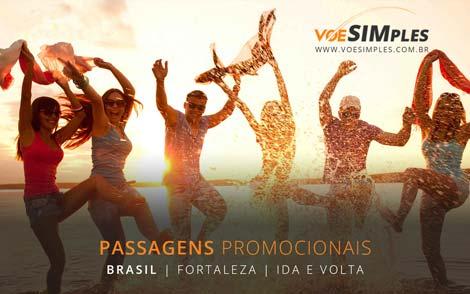 Passagem aérea promocional para Fortaleza