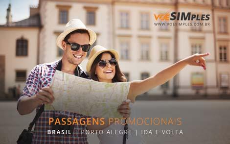 Passagem aérea promocional para Porto Alegre