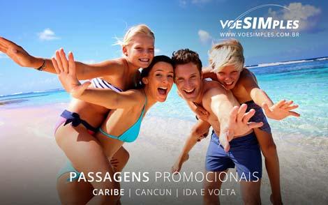 Passagens aéreas promocionais para o Caribe