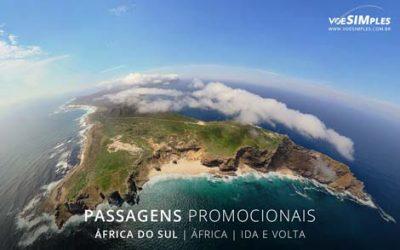 Passagens aéreas promocionais para África do Sul