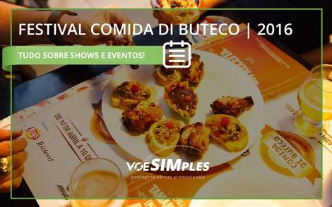 Comida de Buteco 2016 em Belo Horizonte