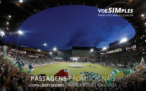 Passagem aérea promocional para os jogos da Libertadores 2016