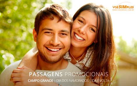 Passagem imperdível para Campo Grande