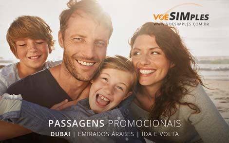 Promoção passagem aérea internacional para Dubai