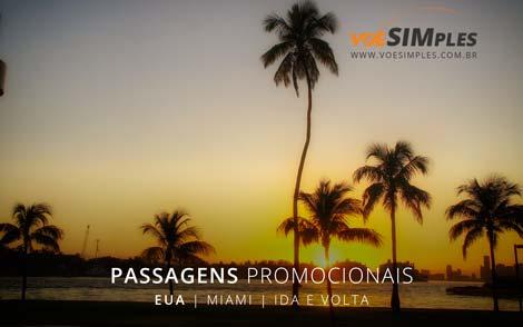 Passagem aérea em promoção de São Paulo para Miami