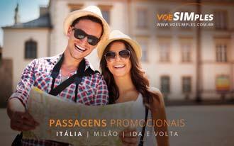 Promoção de passagens aéreas para Milão