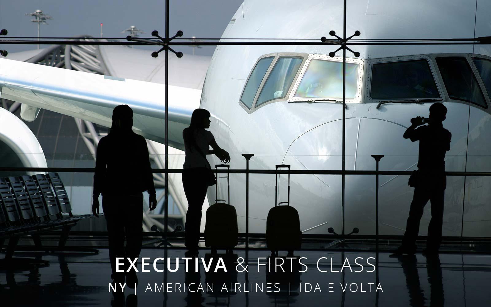 Passagem aérea Classe Executiva American Airlines de São Paulo para Nova York