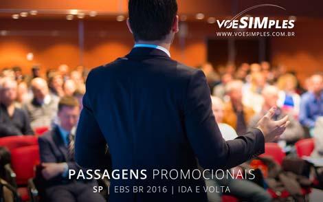 Passagens aéreas promocionais para o Evento Business Show (EBS)