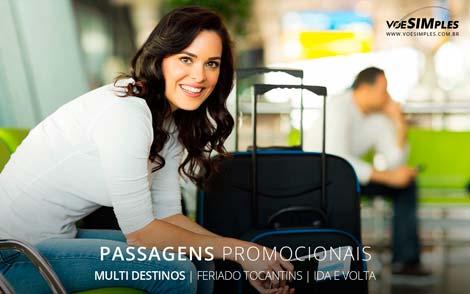 Passagem aérea promocional no Feriado de Tocantins