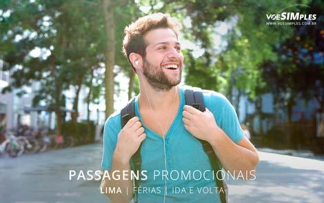 Passagem aérea imperdível para Lima