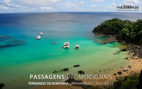Passagem aérea para Fernando de Noronha
