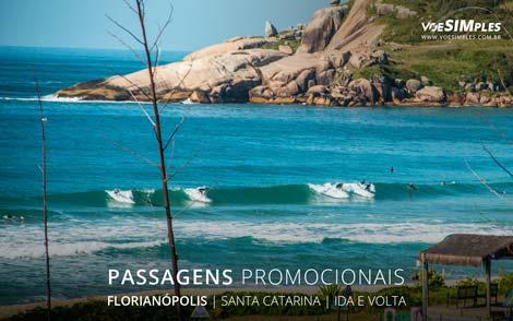 Passagem aérea promocional para Florianópolis