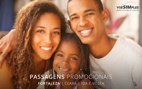 Passagem promo para Fortaleza