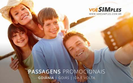 Promoção passagem aérea para Goiânia