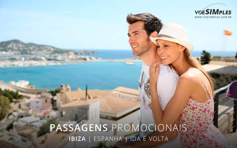 Passagens aéreas promocionais para Ibiza