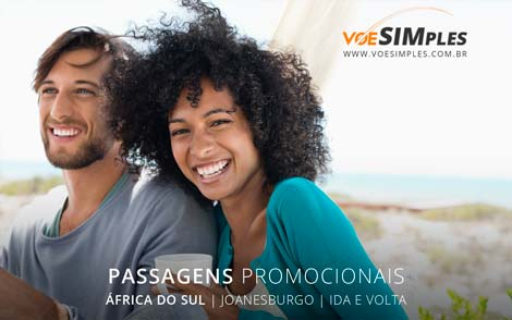 Passagem aérea em promoção para África do Sul
