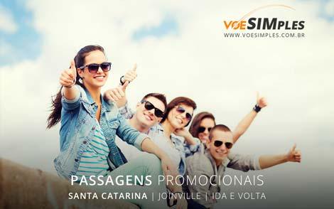 Promoção passagem aérea de final de semana Joinville