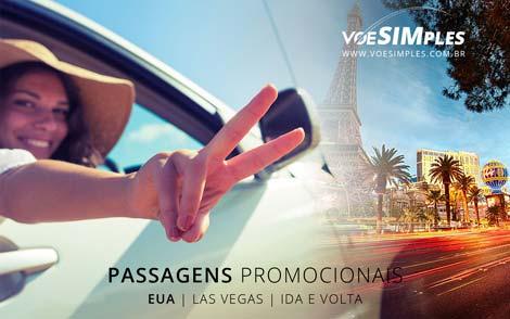 Passagem aérea promocional para Las Vegas