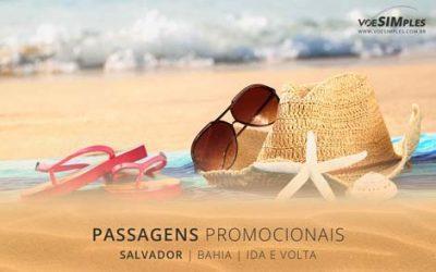 Passagem aérea promocional para Salvador