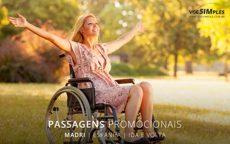 Passagem promocional para Madri