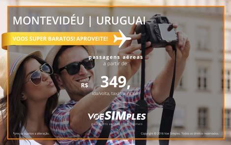 Passagens aéreas baratas para o Uruguai