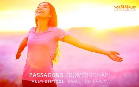 Passagem aérea promocional saindo da João Pessoa