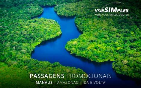 Passagem aérea promocional para Manaus na Semana Santa