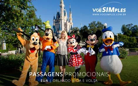 Passagem aérea imperdível para Orlando saindo de São Paulo