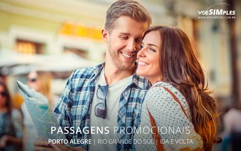 Passagem aérea para Porto Alegre
