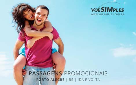Passagem promo para Porto Alegre saindo de São Paulo