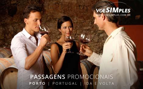 Passagens aérea promocional para Portugal