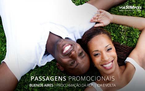 Passagem promo para Buenos Aires