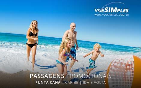 Passagem aérea promocional para Punta Cana