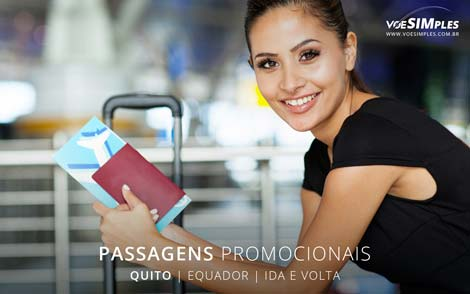 Passagem aérea para Quito