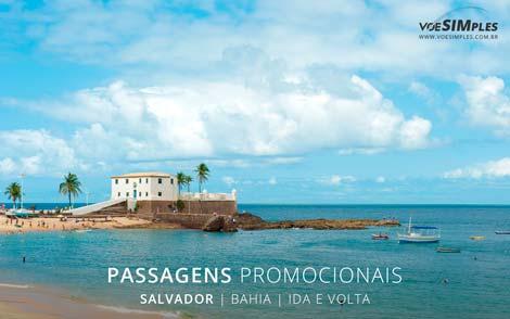 Passagem aérea em promoção para Salvador