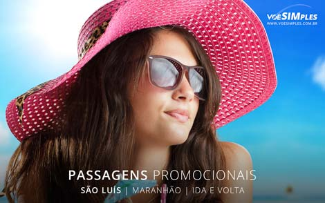 Passagens aéreas promocionais para São Luís