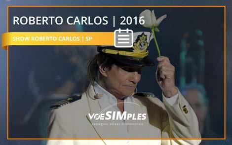 Show Roberto Carlos em SP 2016