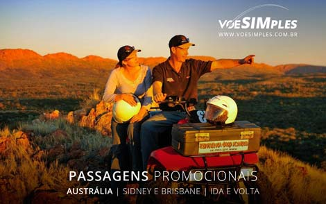 Passagens aéreas em promoção para Austrália