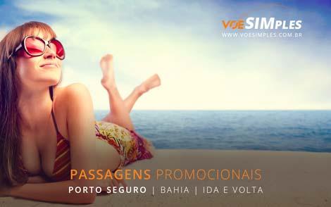 Passagem aérea promocional para Porto Seguro