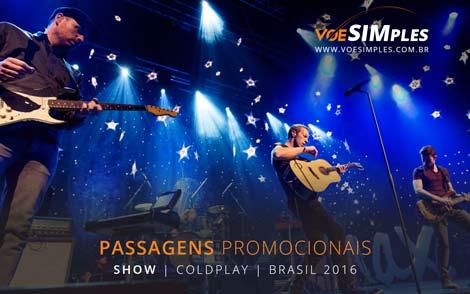 Show do ColdPlay em São Paulo 2016