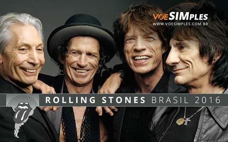 Show do Rolling Stones no Brasil em 2016