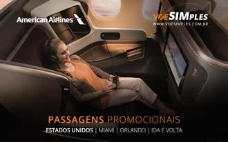 Passagens aéreas promocionais na Classe Executiva