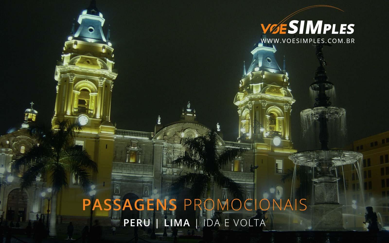 Passagens aéreas baratas para Lima no Peru