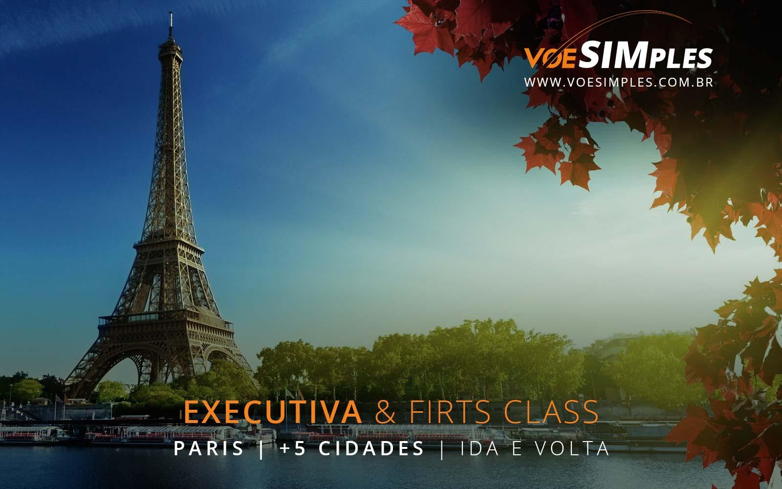 Voos em Classe Executiva da Alitalia para Paris, Londres, Amsterdam, Roma, Frankfurt e Madri na Europa.