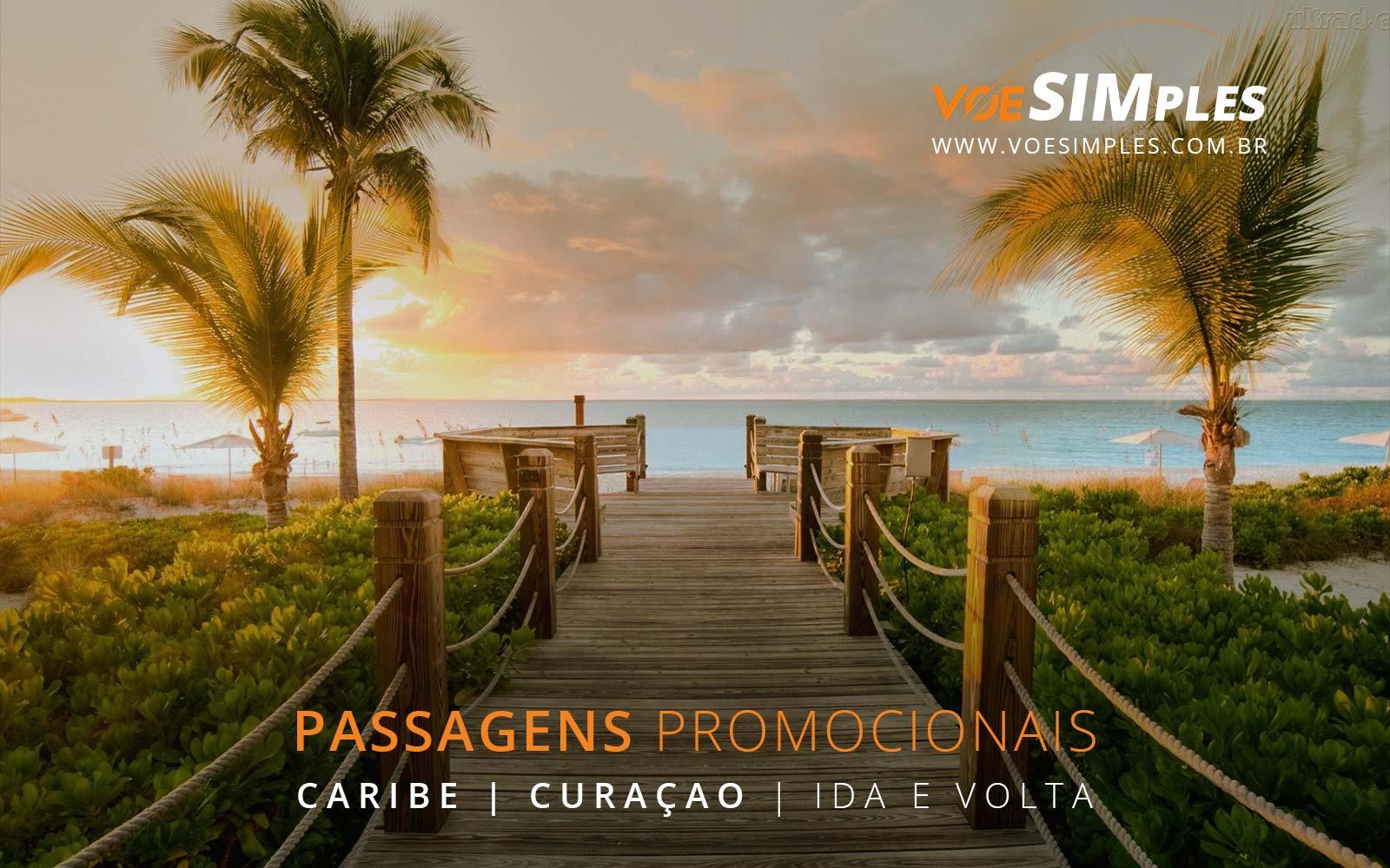 Promoção de passagens aéreas para Curaçao no Caribe