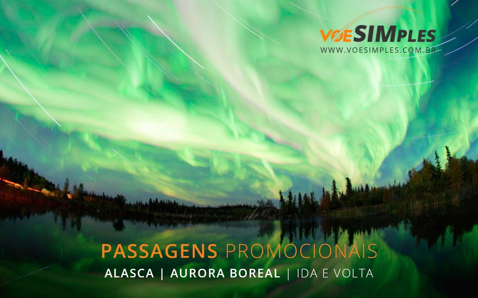 Passagens aéreas baratas para o Alasca