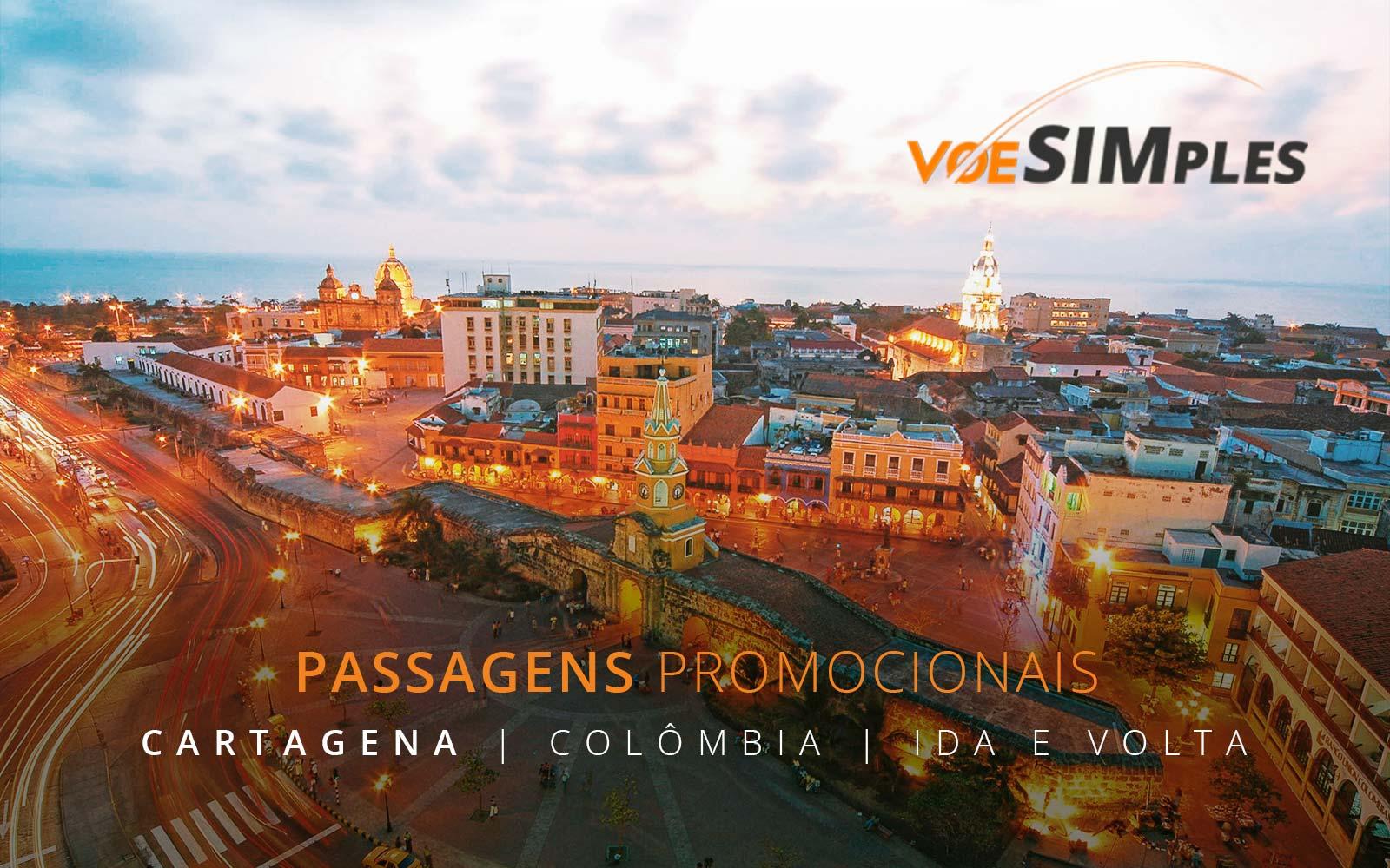Agora é Colômbia! Promoção de passagens aéreas para Bogotá e Caribe Colombiano!