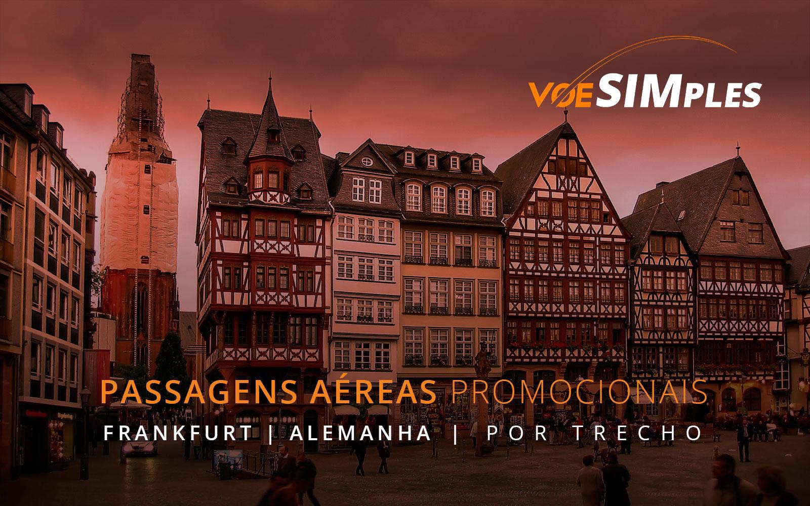 Passagens aéreas promocionais para a Alemanha